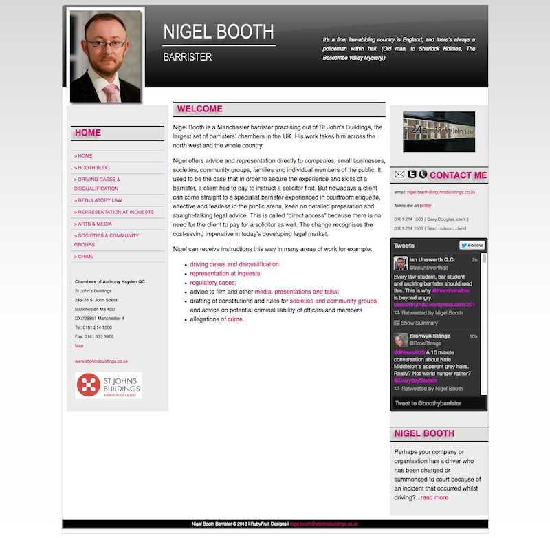 RubyFruit Designs | Web Designer N8